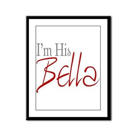 His Bella Framed Panel Print