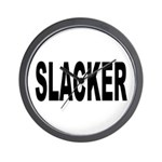 Slacker Wall Clock