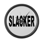 Slacker Large Wall Clock