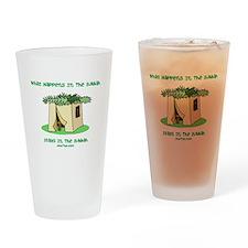 Sukkah Happenings Drinking Glass
