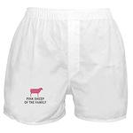 Pink Sheep Boxer Shorts