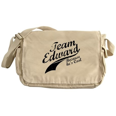 Team Edward Messenger Bag