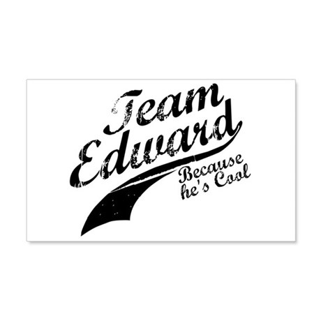 Team Edward 22x14 Wall Peel