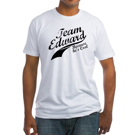 Team Edward Fitted T-Shirt