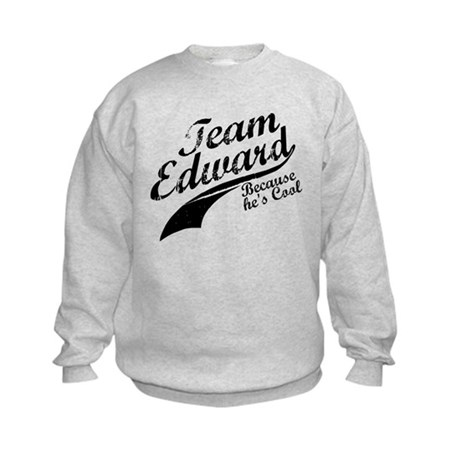 Team Edward Kids Sweatshirt