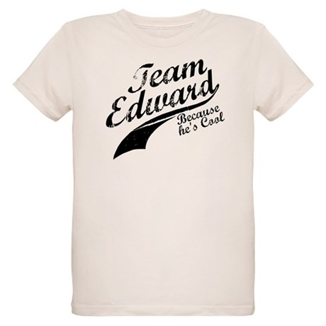 Team Edward Organic Kids T-Shirt