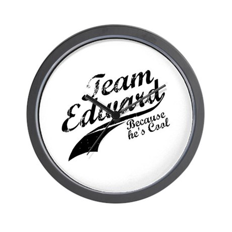 Team Edward Wall Clock