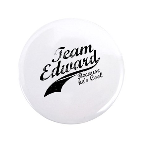 "Team Edward 3.5"" Button"