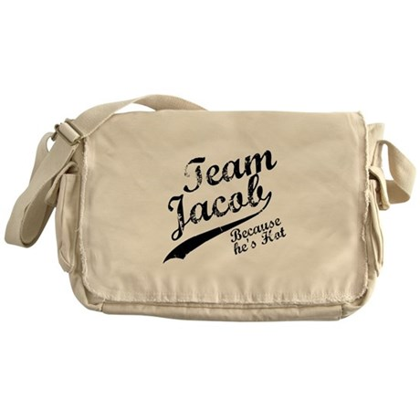 Team Jacob Messenger Bag
