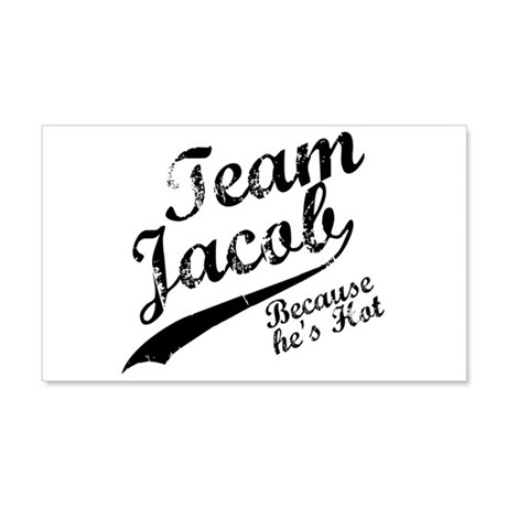 Team Jacob 22x14 Wall Peel