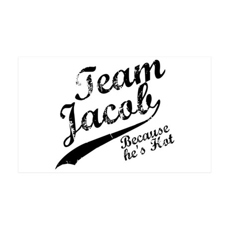 Team Jacob 38.5 x 24.5 Wall Peel