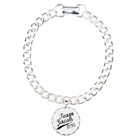Team Jacob Charm Bracelet, One Charm