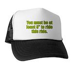 """8"""" to Ride Trucker Hat"""