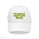 """8"""" to Ride Cap"""