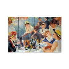 Renoir - Boating Party Rectangle Magnet (10 pack)