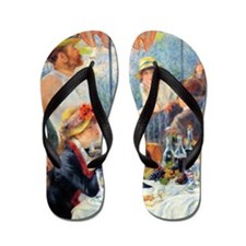 Renoir - Boating Party Flip Flops