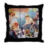 Renoir - Boating Party Throw Pillow