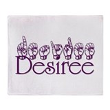 Desiree Throw Blanket