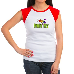 Fruit Fly Women's Cap Sleeve T-Shirt