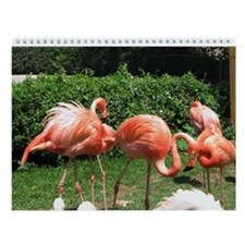 Wild Animal Wall Calendar