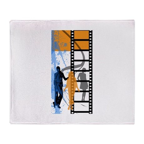 film Strip Throw Blanket
