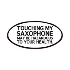 Saxophone Hazard Patches