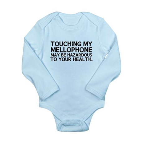Mellophone Hazard Long Sleeve Infant Bodysuit