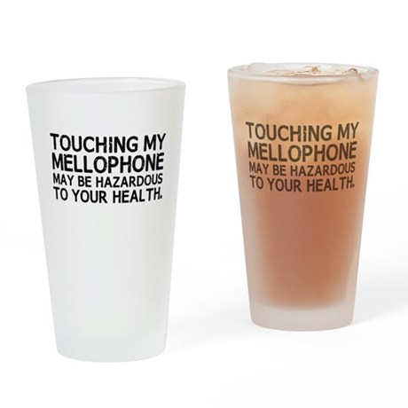 Mellophone Hazard Drinking Glass