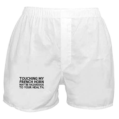 French Horn Hazard Boxer Shorts