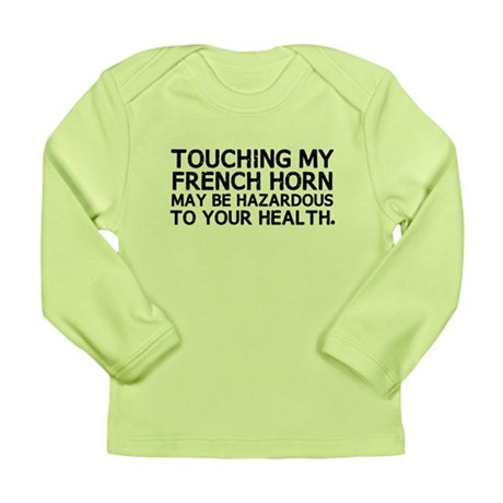 French Horn Hazard Long Sleeve Infant T-Shirt