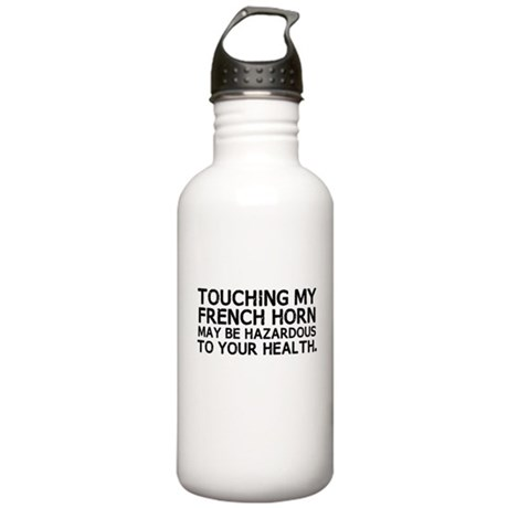 French Horn Hazard Stainless Water Bottle 1.0L