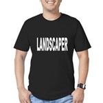 Landscaper Men's Fitted T-Shirt (dark)