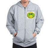 DUI - Drill Sergeant School with Text Zip Hoodie