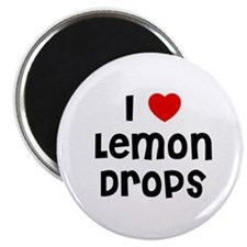"I * Lemon Drops 2.25"" Magnet (10 pack)"