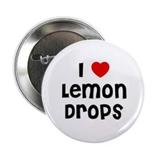 "I * Lemon Drops 2.25"" Button (10 pack)"