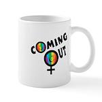 Coming Out Female Mug
