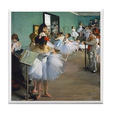 Degas - Dance Class Tile Coaster