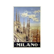 Milano Italia Rectangle Magnet