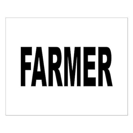 Farmer Small Poster