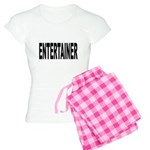 Entertainer Women's Light Pajamas