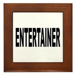 Entertainer Framed Tile