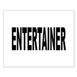 Entertainer Small Poster