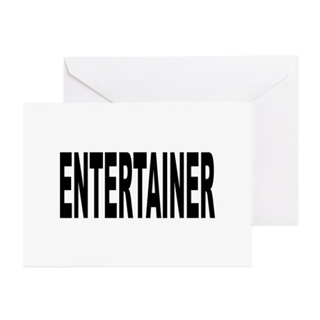 Entertainer Greeting Cards (Pk of 20)