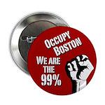 Occupy Boston activist button
