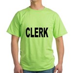 Clerk Green T-Shirt