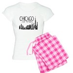 Chicago My Town Women's Light Pajamas