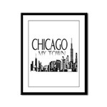 Chicago My Town Framed Panel Print