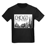 Chicago My Town Kids Dark T-Shirt