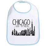 Chicago My Town Bib