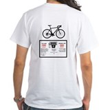 Bicycle Gas Mileage Shirt